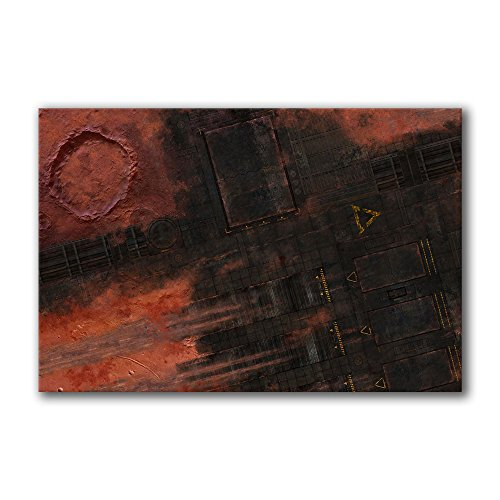 Frontline Gaming - FLG Mat - Mars Base 6x4' - Neoprene Wargaming Mat