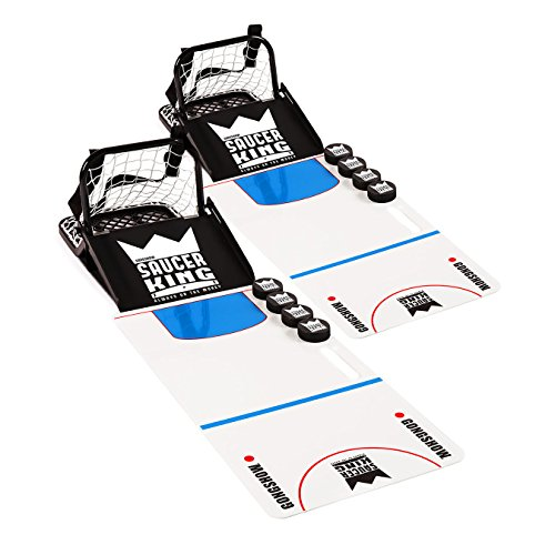 GONGSHOW Saucer King Backyard Hockey Game and Training Set - Made in Canada