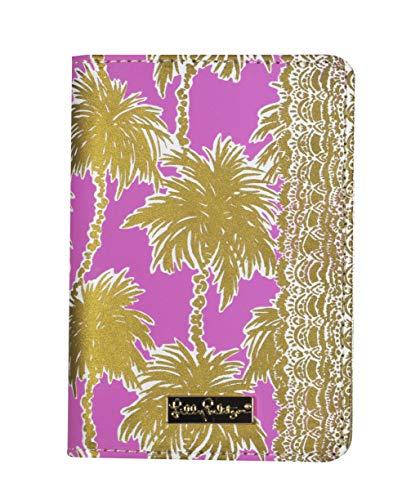 Lilly Pulitzer Passport Cover/Holder, Metallic Palms