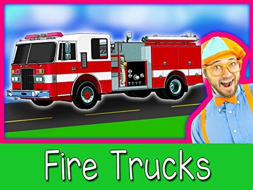 Explore A Fire Truck with Blippi - Fire Trucks for Children
