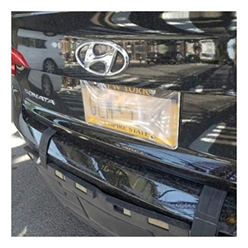 Traffic Camera License Plate Cover Flexible Unbreakable