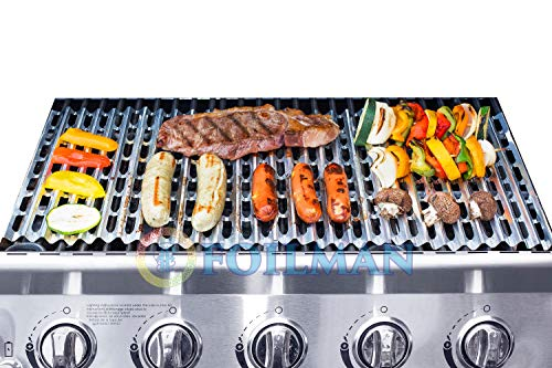 Clean Grill BBQ Disposable Aluminum Liners | 12 x 20 inch/Disposable Grill Grates - Pack Of 12