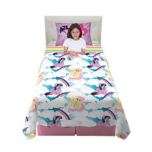 Franco Kids Bedding Super Soft Microfiber Sheet Set, 3 Piece Twin Size, My Little Pony