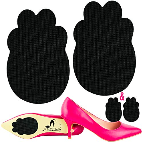 Catwalk Clawz Unique Anti-Slip Grip Non Skid Shoe Pads Made in USA Self-Adhesive Sole Protector