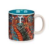 Laurel Burch Artistic Collection 14-ounce Mug, Gatos