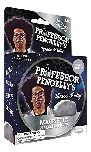 Professor Pengelly's Magnetic Space Putty Starlight Silver