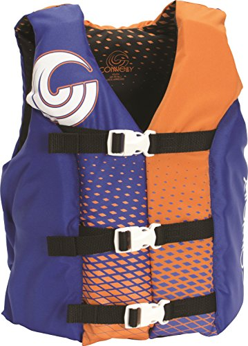 CWB Connelly Youth Nylon Vest, 24'-29' Chest; 50-90Lbs, Boy Tunnel