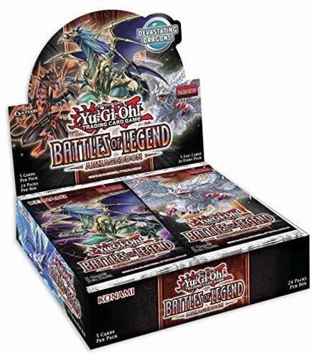 Konami Yu-Gi-Oh! TCG: Battles of Legend - Armageddon Booster Display (24)