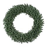 Vickerman 48' Unlit Douglas Fir Wreath