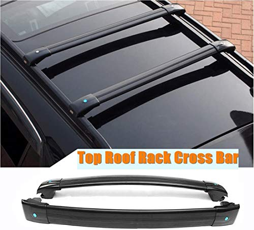 MotorFansClub Roof Rack Cross Bars Fit for Compatible with Jeep Cherokee 2014-2019 Crossbars Cargo Luggage Rack Rail Aluminum (Doesn't Fit Grand Cherokee!!)