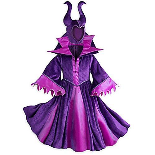 Disney Store Deluxe Maleficent Halloween Costume Descendants Sleeping Beauty (M Medium 7-8)