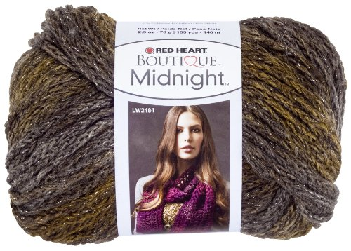 Red Heart Boutique Midnight Yarn, Whisper