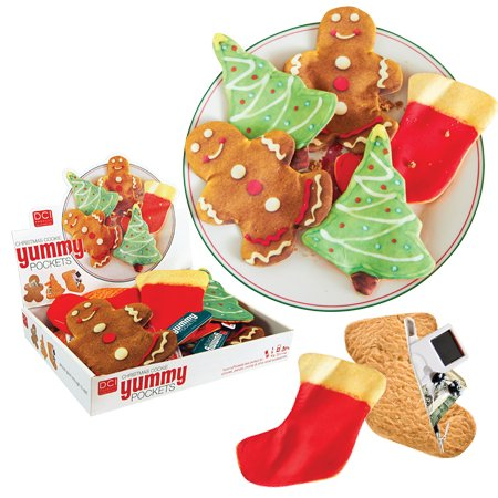 Yummy Pockets Christmas Holliday Cookies - Set of 3