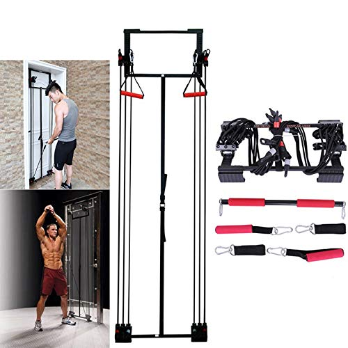 YINGLONG Stretch Training,Full Gym Fitness Door Trainer Tension Trainer Free Straight Bar