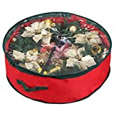 """Primode Wreath Storage Bag with Clear Window 30' 