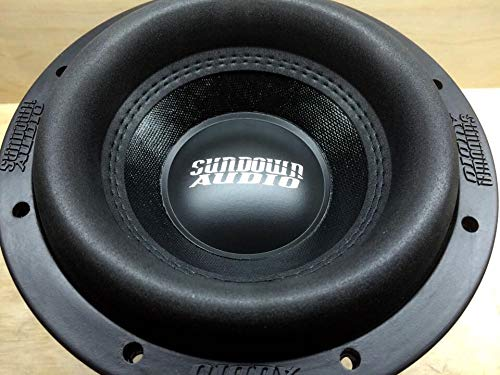 SA-8 V.3 D4 - Sundown Audio 8' 500W RMS Dual 4-Ohm SA Series Subwoofer