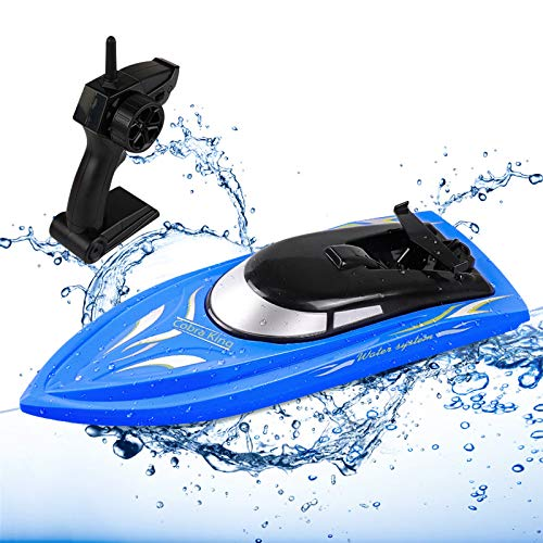 SGOTA RC Boat, Remote Control Boats for Kids and Adults High Speed RC Boat Racing for Pool/Lake/Pond 2 in 1 Remote Control Alligator Head Boat 2.4 GHz Remote Control Boat (Only Works in Water)