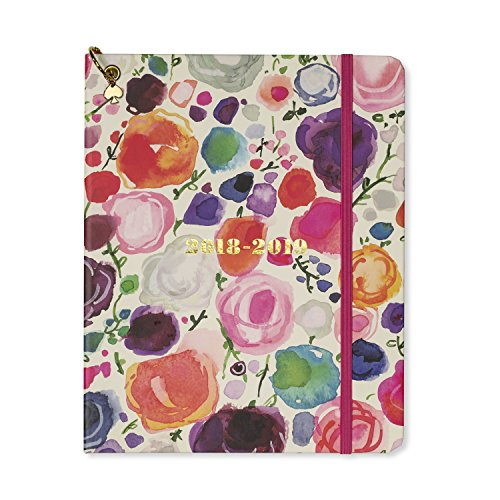 Kate Spade New York Women's Floral Large August to August Agenda Planner, Multi, One Size