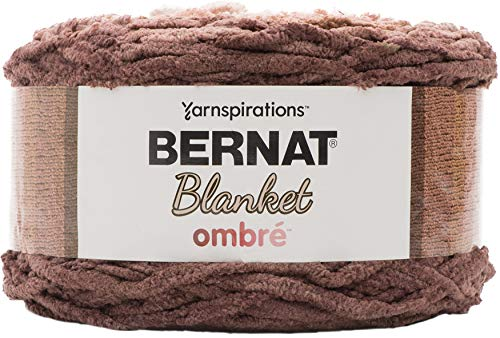 Bernat Blanket Yarn, Chocolate Ombre