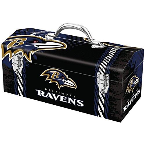 Team ProMark NFL Baltimore Ravens Full-Print Tool Box, Multi, One Size (TBWNF03)
