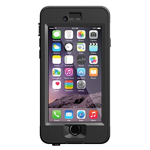 LifeProof NÜÜD iPhone 6 ONLY Waterproof Case (4.7' Version) - Retail Packaging - BLACK