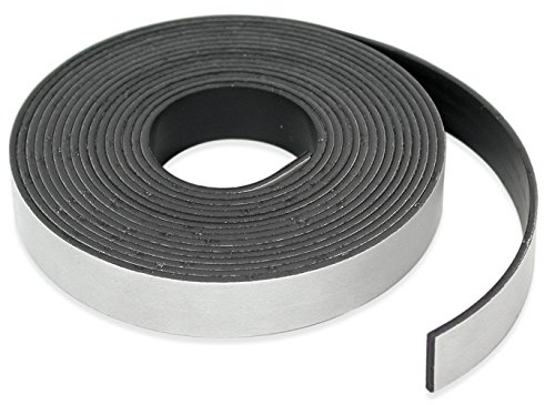 Master Magnetics Roll-N-Cut Flexible Magnetic Tape Refill - 1/16' Thick x 1/2' Wide x 15 feet. (1 roll), 07518