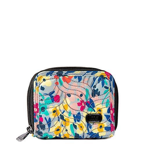 Lug Women's Splits 2 Compact Wallet, Wildflower Multi, One Size