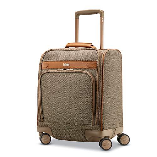 Hartmann Deluxe Underseat Carry On Spinner, Terracotta Herringbone, One Size