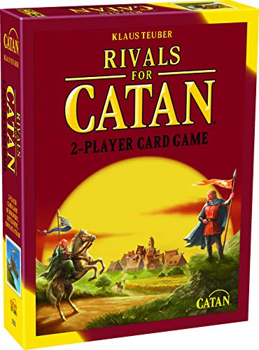 Rivals for CATAN Card Game for 2 Players (Base Game) | Card Game for Adults and Family | Strategy Card Game | Adventure Card Game | Ages 10+ | Average Playtime 45 minutes | Made by Catan Studio