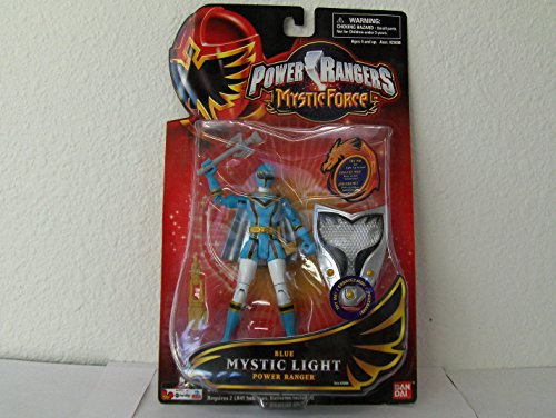 Power Rangers Mystic Force Mystic Light Action Figure Blue Power Ranger
