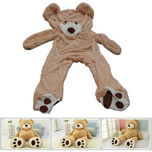 Fengheshun 78' (6.5 Feet) Giant Teddy Bear Cover (Not Stuffed), Best Gift for Girlfriend on Valentine's Day