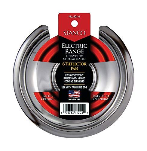 Stanco Steel Reflector Pan 6 in. W