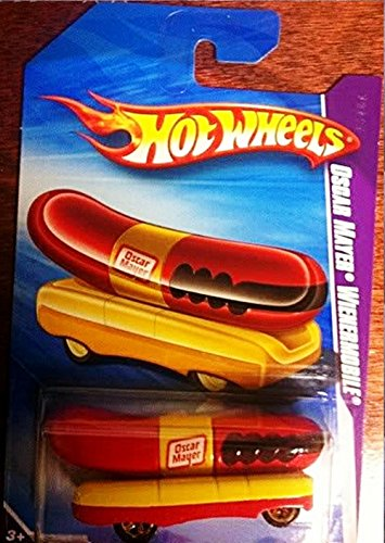 Hot Wheels Oscar Mayer Wienermobile Henry Ford Museum Exclusive 2009 1:64 Scale (3' Long) Collectible Die Cast Car