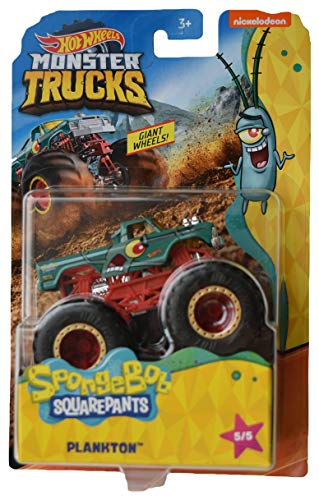 Hot Wheels Monster Trucks Spongebob Squarepants Plankton 5/5