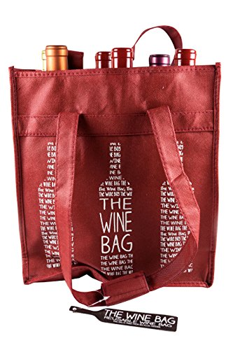 Berk Reusable 6 Bottle Wine Shopping Bag