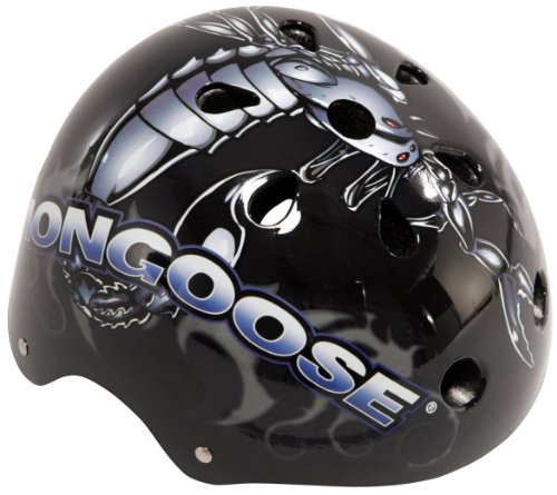 Mongoose Street Serv Hardshell Bicycle Helmet (Youth)(Graphics May Vary)