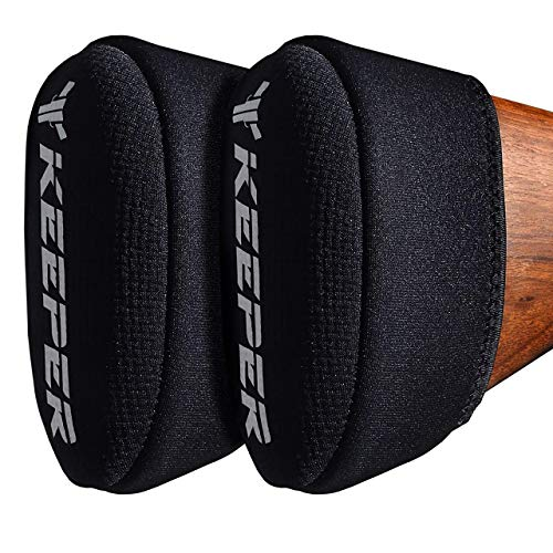 Recoil Pad - Slip On Any Shotgun or Rifle Butt Stock. With Visco-Elastic Gel to Reduce & Buffer Recoil - Gun Shooting & Hunting Accessories - Compatible with Remington, Tompson, Mossberg, Ruger, S&W