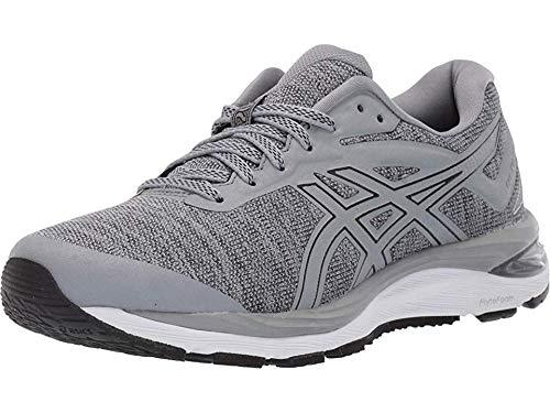 ASICS Women's Gel-Cumulus 20 MX Running Shoes, 7.5M, Stone Grey/Black