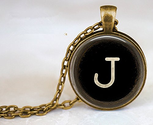 PERSONALIZED Vintage Typewriter Initial or Number Key Jewelry