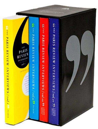 The Paris Review Interviews, Vols. 1-4