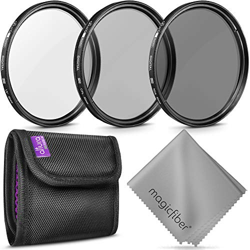 95MM Altura Photo Professional Photography Filter Kit (UV, CPL Polarizer, Neutral Density ND4) for Camera Lens with 95MM Filter Thread + Filter Pouch