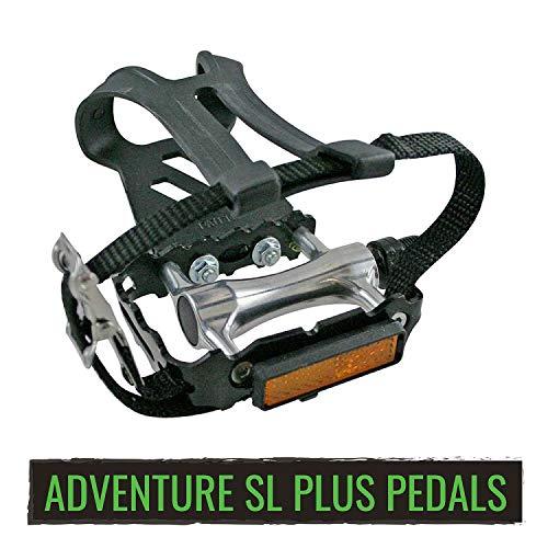 evo, Adventure SL Plus, Pedals and Toe-Clips and Straps