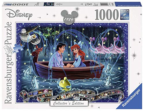 Disney Collectors Edition The Little Mermaid Panorama Puzzle 1000 Piece Professional Soft Click Jigsaw Ages 12+