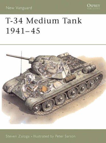 T-34/76 Medium Tank, 1941-45 (Osprey New Vanguard) by Zaloga, Steven J. (1994) Paperback