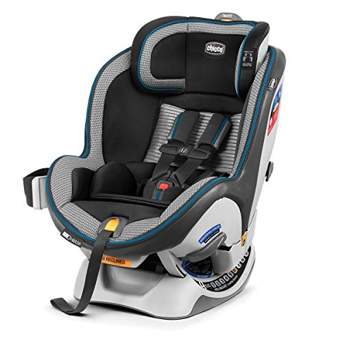 Chicco NextFit Zip Air Convertible Car Seat, Azzurro