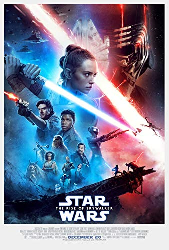 Star Wars: The Rise of Skywalker Movie Poster 24 x 36 Inches - Certified Print with Holographic Sequential Numbering for Authenticity