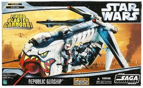 Star Wars Clone Wars Republic Gunship