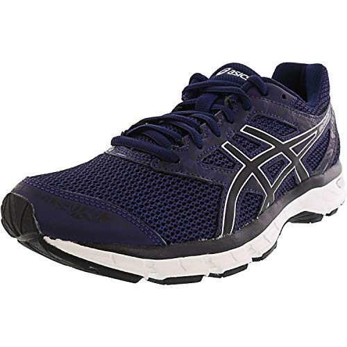 ASICS Gel-Excite 4 Men's Running Shoe, Indigo Blue/Black/Silver, 10.5 M US