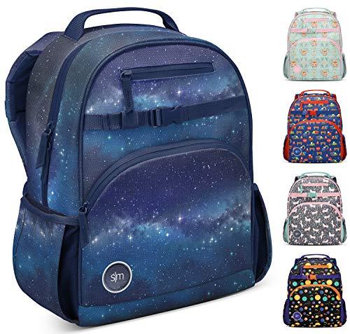 Simple Modern Kids' Fletcher Backpack for Toddler Boys Girls School, Milky Way, 12 Liter