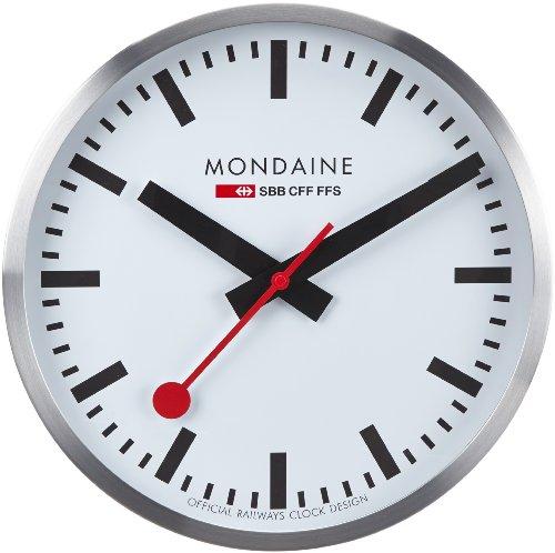 Mondaine A995.Clock.16SBB SBB Metal Wall Clock
